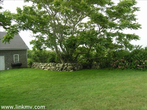 Old stone walls,