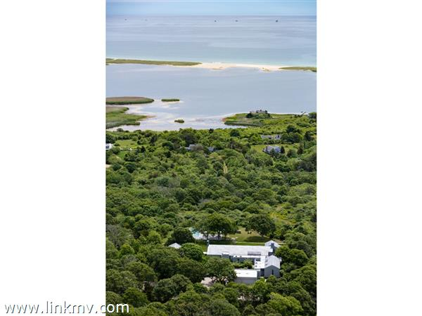 Waterviews of South Shore and Chilmark Pond