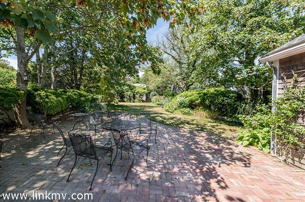 Patio View Across Backyard