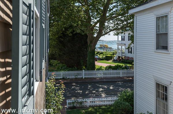 Water View Toward Edgartown Harbor (From Second Floor Covered Porch)