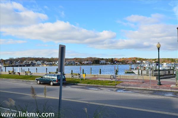 Fabulous water view of Oak Bluffs Harbor