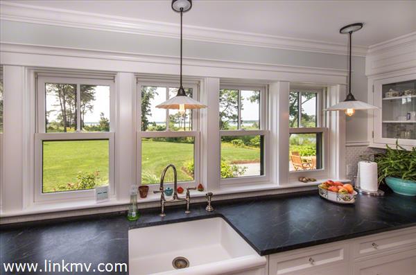 Kitchen Water Views