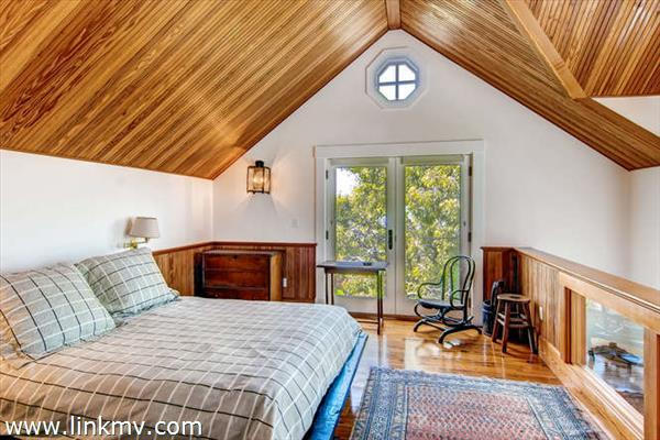 and guest studio loft bedroom