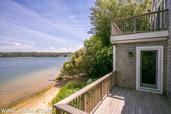 Back deck waterviews