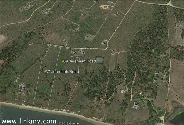 General lot configuration of 37 and 39 Jeremiah Road