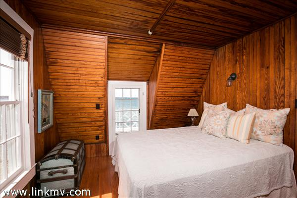 Guest bedroom with private porch