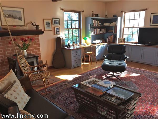 Library / office off front door