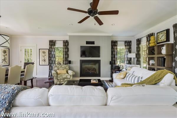 Main house living room.