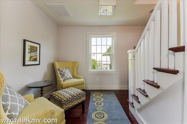 Second floor sitting area.