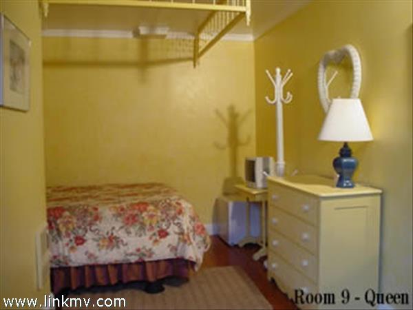 Room 10, Queen, 1st floor around back of Inn