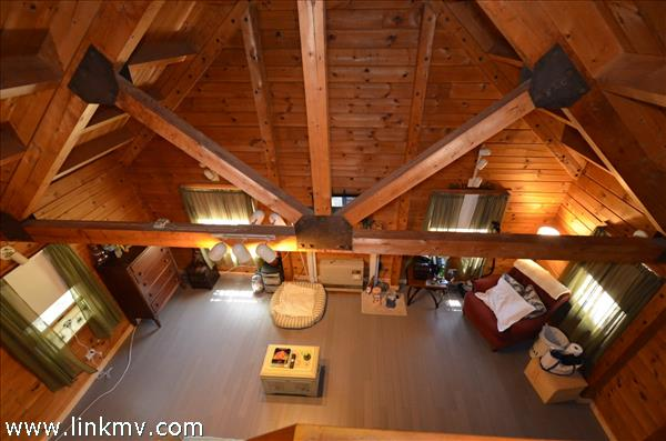 From the spacious loft