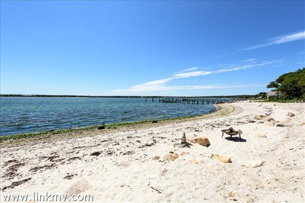 Expansive sandy beach