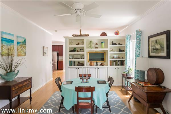 Large Dining area looking into Kitchen