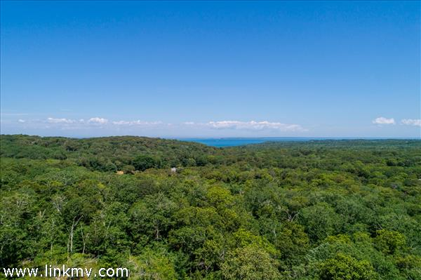 Views of Vineyard Sound from this West Tisbury hilltop