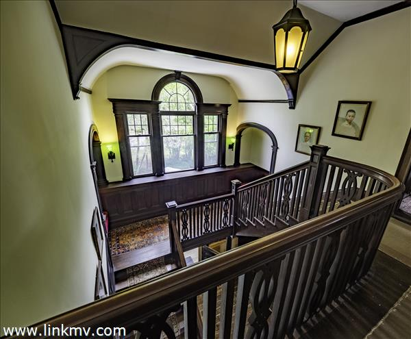from the 2nd floor landing